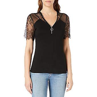Morgan Tshirt Dayana T-Shirt, Black, M/High Woman