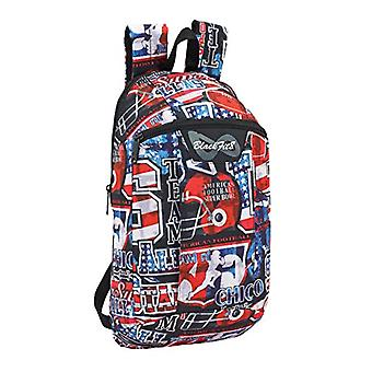 Blackfit8 2018 Casual Backpack, 39 cm, 1 liters, Multicolor (Multicolor)