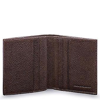 Piquadro Pulse Plus Porte carte de crédit, 10 cm, Tête de Moro