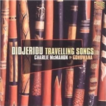 Charlie McMahon Didjeridu Canções Itinerantes CD
