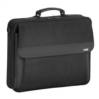 Targus Intellect Business Travel and Commuter Messenger pour étui à clapet pour ordinateur portable de 16 pouces avec bandoulière, noir (TBC002EU)