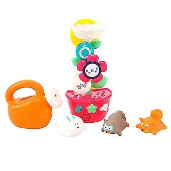 Zdjęcie 1 5pcs zabawki do kąpieli zestaw dzieci kwiat w kształcie wodospadu stacji wody podlewania może wanna zabawki wanna dla małych dzieci dt2229