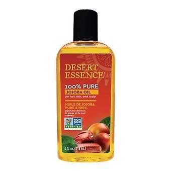 Desert Essence 100% Ren Jojobaolja, 100% Ren 4 FL Oz