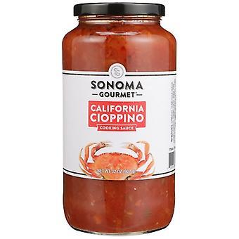 Sonoma Gourmet Sauce Cioppino, sag af 6 X 32 Oz