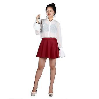 Άνοιξη καλοκαίρι βύσμα μέγεθος άνετα στερεό χρώμα κυρία υψηλή μέση σύντομη φούστα