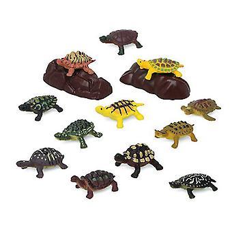 Набор диких животных 110203 черепахи (14 шт.)
