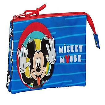 Holdall Mickey Mouse Blue Red