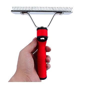 Pet Comb Extra Large Rake Comb Grooming Brush Deshedding Tool Beauty Comb