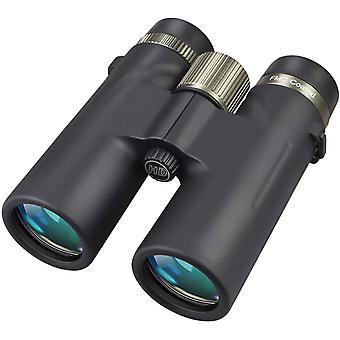 12x42 HD compact binoculars, waterproof binoculars for bird watching, hiking, hunting, sightseeing, double metal process focusing wheel, incl. Carrying case,(black)