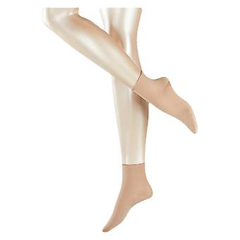 Korte sokken van Falke Cotton Touch - gember-Beige