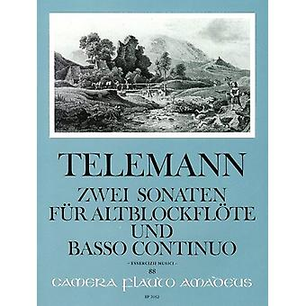 Telemann: 2 Sonatas TWV 41:C5 und 41: D4