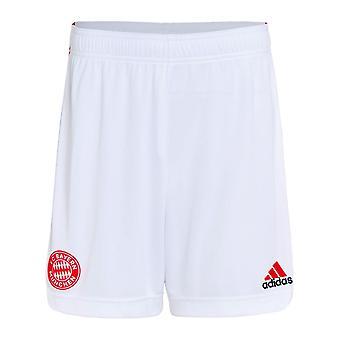 2021-2022 Bayern München Derde Shorts (Wit) - Kinderen