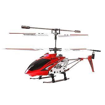 Uusi S107g Rc helikopteri 3.5ch seos (punainen)