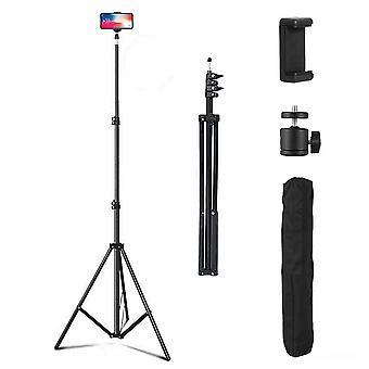 Réglable 2.1M Trépied Stand Téléphone mobile & Porte-caméra avec sac de transport