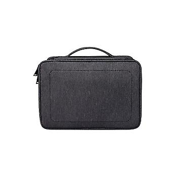 Speakers portable small digital accessory storage bag double-layer multi-function waterproof storage bag