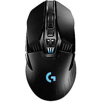 Usb adapters g903 lightspeed wireless gaming mouse  12 000 dpi  rgb  lightweight  7 to 11 programmable buttons