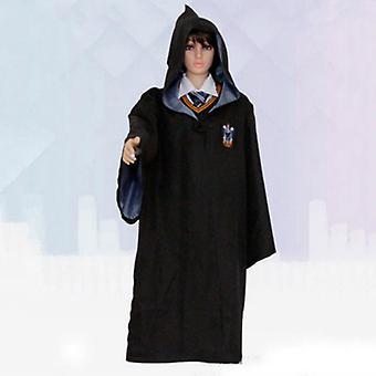הארי פוטר מבוגר קיד קוספליי תלבושות גריפינדור שמלה מהודרת גלימה גלימה