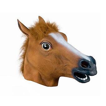 Hevosen päänaamio Cosplay Pukujuhla Hauska ja Hauska Halloween Hevosenpää Naamio Päähineet