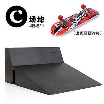 finger skateboard feltet grunnleggende utgave scene kombinasjonssett