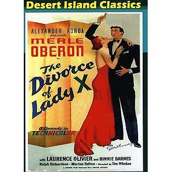 Divorce of Lady X (1938) [DVD] USA import