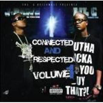 J Dawg & Lil C - Connected & Respected Volume 1 [CD] USA import