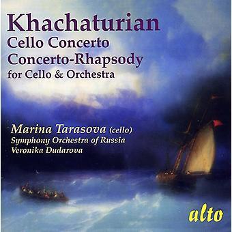 A. Jachaturián - Khachaturian: Importación de USA de Cello Concertos [CD]