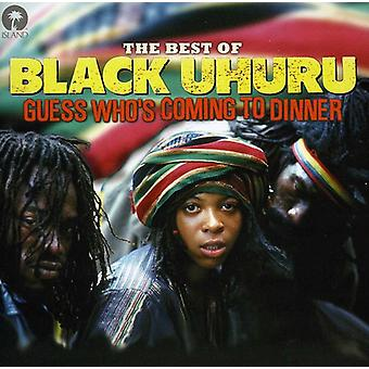Black Uhuru - Guess Who's Coming to Dinner-the Best of Black Uhu [CD] USA import