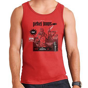 Rebel Loops Wolfenstein Cereal Men's Vest