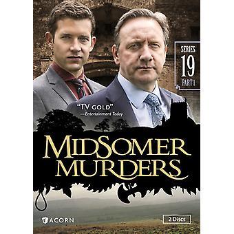 Midsomerin murhat: Sarja 19 [DVD] Yhdysvallat tuoda