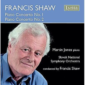 Shaw / Jones / Slovak National Symphony Orchestra - Shaw: Piano Concerto No 1 [CD] USA import
