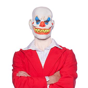 Horror Grusel Halloween Clown Maske Herrenkostüm