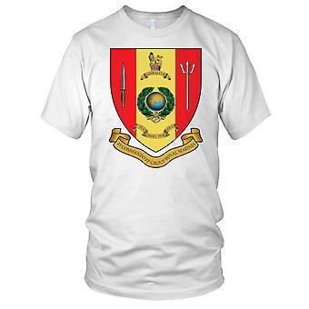 Royal Marines 43 Commando flotta skyddsgrupp Badge damer T Shirt