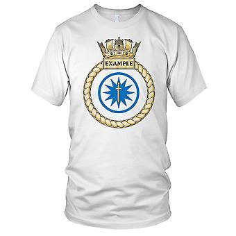 Royal Navy HMS esempio Kids T-Shirt
