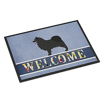 Swedish Lapphund Welcome Indoor or Outdoor Mat 18x27