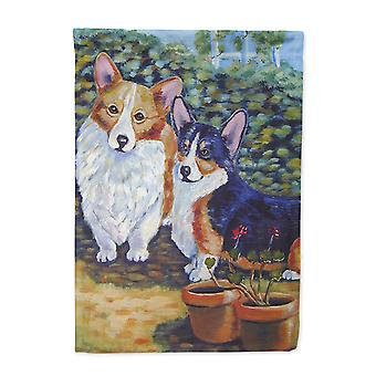 Carolines Treasures  7094-FLAG-PARENT Corgi Flag