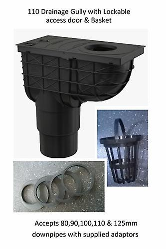 Underground Drainage Gully 110 or 125 mm Outlet For Downpipes 809010110125mm