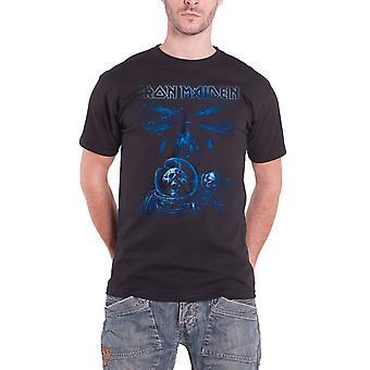 Iron Maiden Final Frontier azul álbum astronauta nuevo Mens T shirt