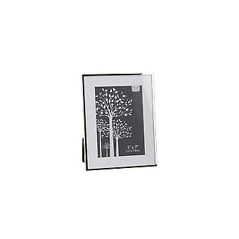 CGB cadeaux argent plat bord cadre Photo (5x7in)