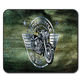 Rider Motorcycle Biker  Non-Slip Mouse Mat Pad 24cm x 20cm | Wellcoda