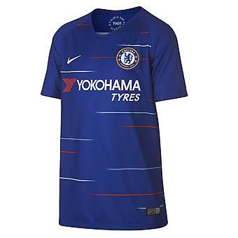 2018-2019 Chelsea Home Nike Football Shirt (Kids)