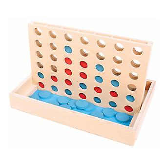 Bigjigs Toys Wooden Traditional Four in a Row Game