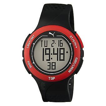 PumaUhr Armbanduhr Unisex Touch Black Red Digital PU911211001
