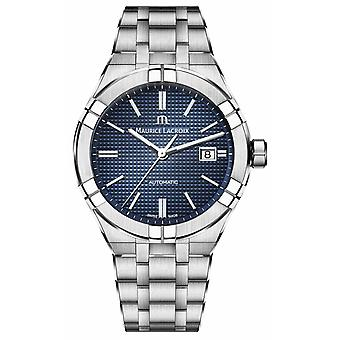Maurice Lacroix Aikon Automatic 42mm Stainless Steel Blue Dial AI6008-SS002-430-1 Montre