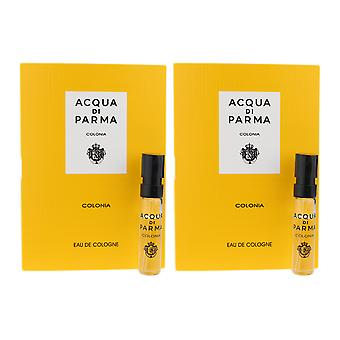 Acqua di Parma ' colonia ' EAU de Cologne 0.05 Oz/1.5 ml flacon pe card (pachet de 2)