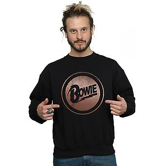 David Bowie Herren Rose Gold Circle Sweatshirt