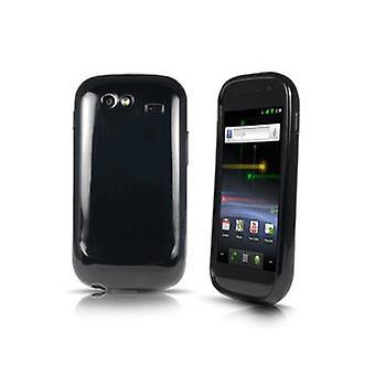 Samsung SPH-D720 Nexus S 4G Gel pele caso capa (preto)