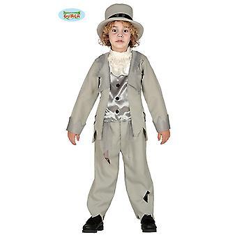 Ghost groom gentleman ghost zombie dandy Halloween child costume