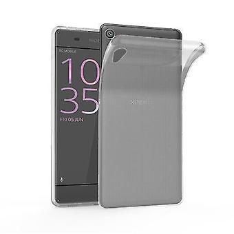 Cadorabo tapauksessa Sony Xperia XA tapauksessa tapauksessa kansi - joustava TPU silikoni puhelinkotelo - silikoni kotelo suojakotelo ultra ohut pehmeä takakannen tapauksessa puskuri