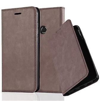 Cadorabo Hülle für Huawei P8 LITE 2017 Obudowa - Handyhülle mit Magnetverschluss, Standfunktion und Kartenfach - Case Cover Schutzhülle Etui Tasche Book Klapp Style