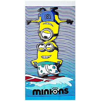 Minions Surf Towel Beach towels 140 * 70cm
